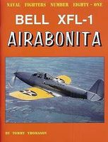GinterBooks Naval Fighters- Bell XFL1 Airabonita Military History Book #81