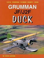 GinterBooks Naval Fighters- Grumman JF/J2F Duck Military History Book #84