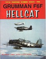 GinterBooks Naval Fighters- Grumman F6F Hellcat Military History Book #92
