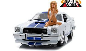 Green-Light Charlies Angels Mustang Diecast Model Car 1/18 Scale #12880b