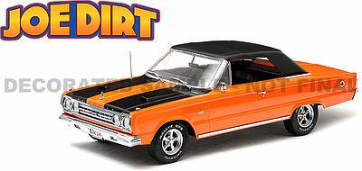 Green Light 1967 Joe Dirt Plymouth Gtx Diecast Model Car 118 Scale