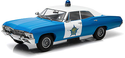 Green Light Collectibles 1967 Chevrolet Biscayne CPD -- Diecast Model Car -- 1/18 Scale -- #19009
