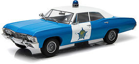 Green-Light 1967 Chevrolet Biscayne CPD Diecast Model Car 1/18 Scale #19009