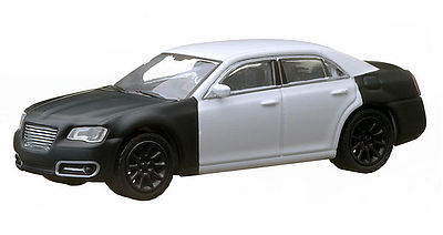 Green Light Collectibles 2013 Chrysler 300 Spy Shot -- Diecast Model Car -- 1/64 Scale -- #29777