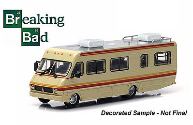 Green Light Collectibles 1986 Feetwood Bounder RV -- Diecast Model Truck -- 1/64 Scale -- #33021