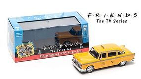 Green-Light Friends 1977 Checker Taxi Diecast Model Car 1/43 Scale #86041