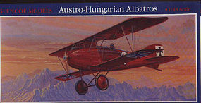 Glencoe Austro Hungarian Albatros BiPlane Plastic Model Airplane Kit 1/48 Scale #05102
