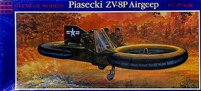 Glencoe Piasecki VZ-8P Airjeep Plastic Model Airplane Kit 1/35 Scale #05203