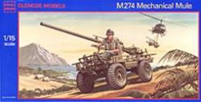 Glencoe M274 Mechanical Mule Plastic Model Military Vehicle Kit 1/15 Scale #05401