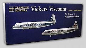 Glencoe Vickers Viscount 708 Airliner Plastic Model Airplane Kit 1/96 Scale #06501