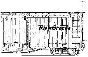 Grandt DRGW Boxcar Hardware Kit O Scale Model Train Part #3001
