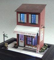 Grandt Grannys Bakery w/Details - O-Scale