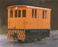Grandt Dummy 23-Ton GE Box Cab - Narrow Gauge-Kit HO Scale Model Train Diesel Locomotive #5114