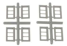 Grandt 40x17 Window (8) HO Scale Model Railroad Building Accessory #5303