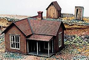 Grandt No Problem Joes House Kit HO Scale Model Railroad Building #5906