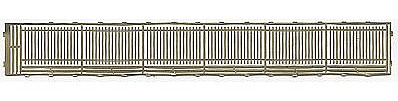 Gold Medal Models Wrought iron fence extndr - N-Scale