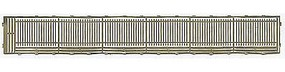 Gold-Medal Wrought iron fence extndr - N-Scale