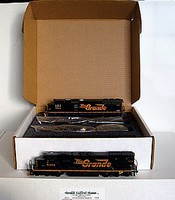 Grand-Central 4-Loco Storage Box HO-Scale