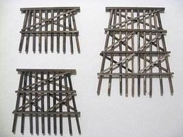 Grand-Central Dbl Track Bents 3-3/4 5/ - N-Scale (5)