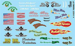 Gofer-Racing Name It Plastic Model Vehicle Decal #11037