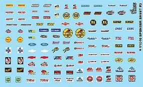 Gofer-Racing 1/24-1/25 Manufacturer Sponsor Logos #3 Plastic Model Vehicle Decal #11040