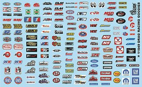 Gofer-Racing 1/24-1/25 Drag Racing Goodies (Logos)