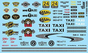 Gofer-Racing Taxis Decals