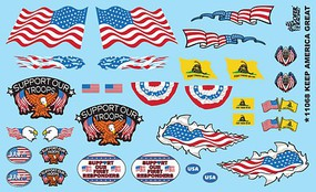 Gofer-Racing Keep America Great Decal 1-24