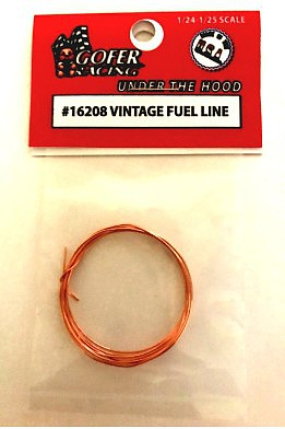Gofer-Racing Vintage Copper Fuel Lines 1-25