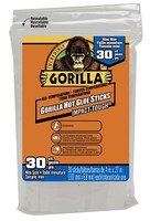 Gorilla 4'' Mini All-Temperature Glue Sticks (30)