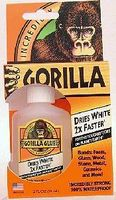 Gorilla 2oz. Dries White Gorilla Glue 10pc Counter Display