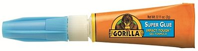 Gorilla Glue 3g Tube Gorilla Super Glue (Cd)
