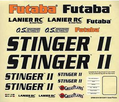 Great-Planes Decals Stinger II 46 ARF
