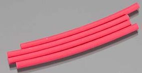 Great-Planes Heat Shrink Tubing 1/8x3 (4)