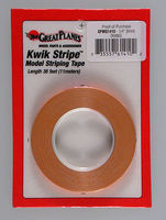 Great-Planes Striping Tape Orange 1/4