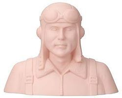 Great-Planes Pilot Bust 1/3 WWI German Unpainted