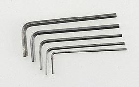 Great-Planes Short Hex Wrench Set (5)