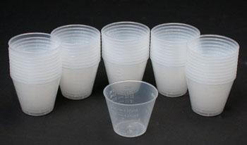 Great Planes Epoxy Mixing Cups (50) -- #r8056
