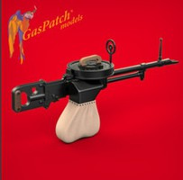 Gas-Patch 1/48 Vickers K Machine Gun Kit (2)