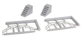 Great-West 2 Stairs/4 railings set - HO-Scale