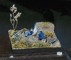 G-R-S HO Hobo Camp Mini Diorama Kit