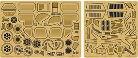 Green-Strawberry 1/32 Battlestar Galactica Colonial Raptor Interior Detail Set for MOE (Photo-Etch)