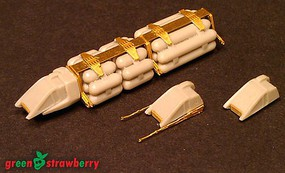 Green-Strawberry 1/350 WorkBee #4- Tanker Train & Grabber Pack (Photo-Etch & Resin)