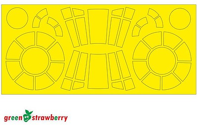 Green-Strawberry 1/144 Star Wars Millennium Falcon Mask for BAN