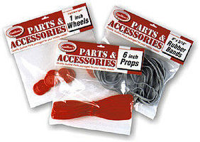 Guillows Accessory Pack 2-1/2x0.40 Prop Shaft (4 Shafts)