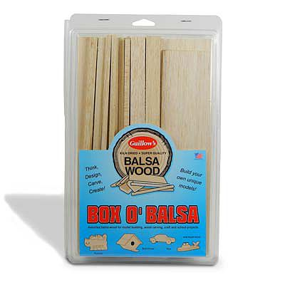 Guillows Box OBalsa Random Sizes