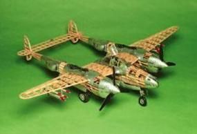 Guillows Giant Scale WWWII Model P-38 Lightning