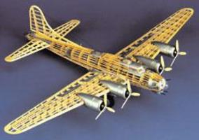 Guillows B-17G FLYING FORTRESS 45'