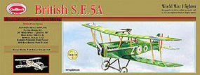 Guillows 24 Wingspan British SE5A Laser Cut Kit