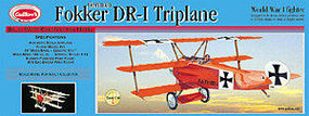 Guillows Fokker DR1 Triplane Laser Cut